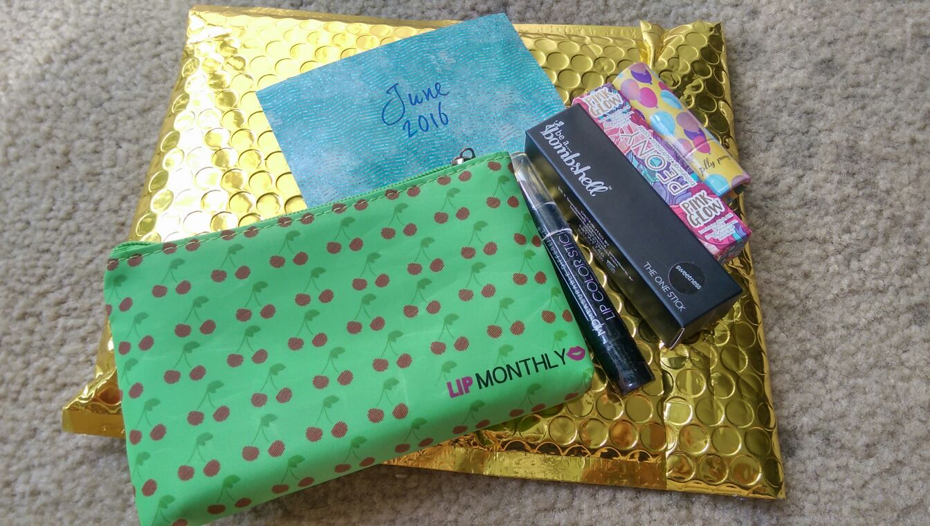 Lip monthly June 2016 unboxing