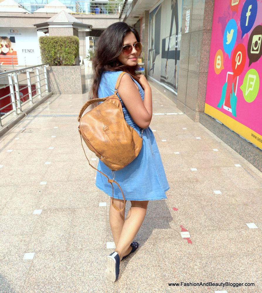 Denim look under 1000 from Lajpat, blogger's budget fashion Swag