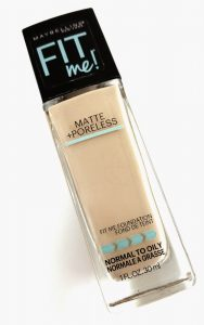 Fit Me Matte + Poreless from Maybelline