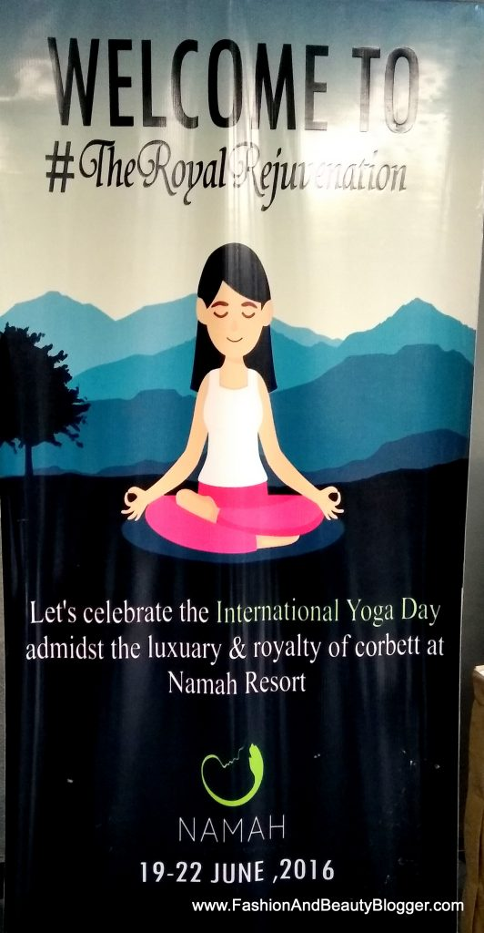 International Yoga Day at Namah Resorts Jim Corbett
