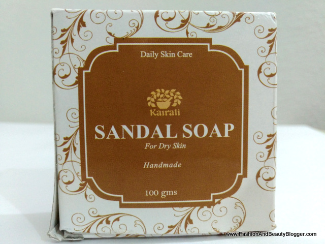 Kairali Sandal Soap for Daily Skin Care Review