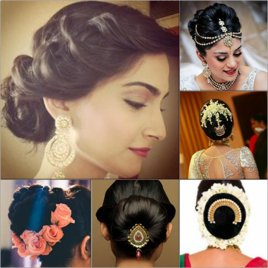 Wedding Hairstyle For Wedding Engagement And Mehandi Function
