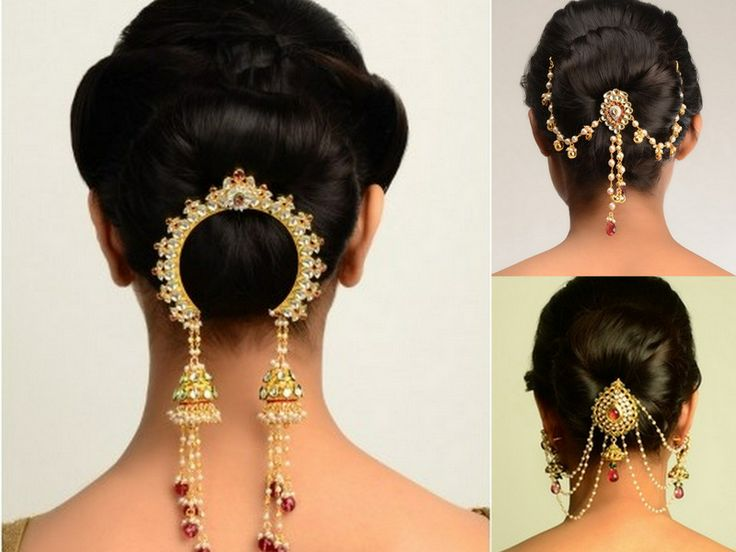 Indian Wedding Hairstyles For Mid To Long Hair Hesheandbaby Com
