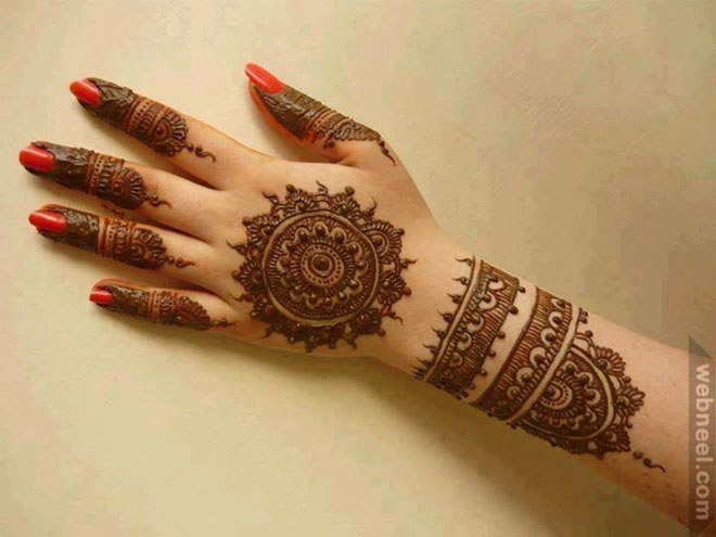 Easy Mehndi Designs With Video Tutorials 2017  FashionAndBeautyBloggercom