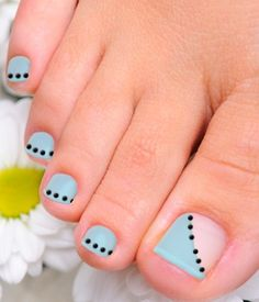 Cute Feet Nail art ideas