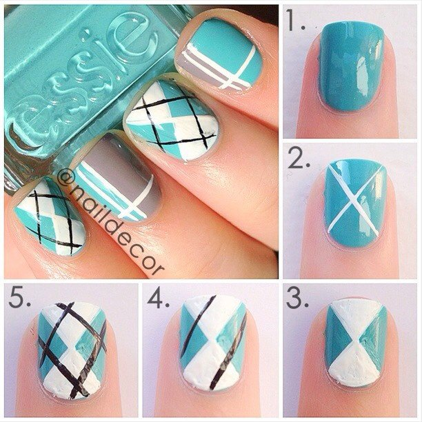 Teengaurou nail art