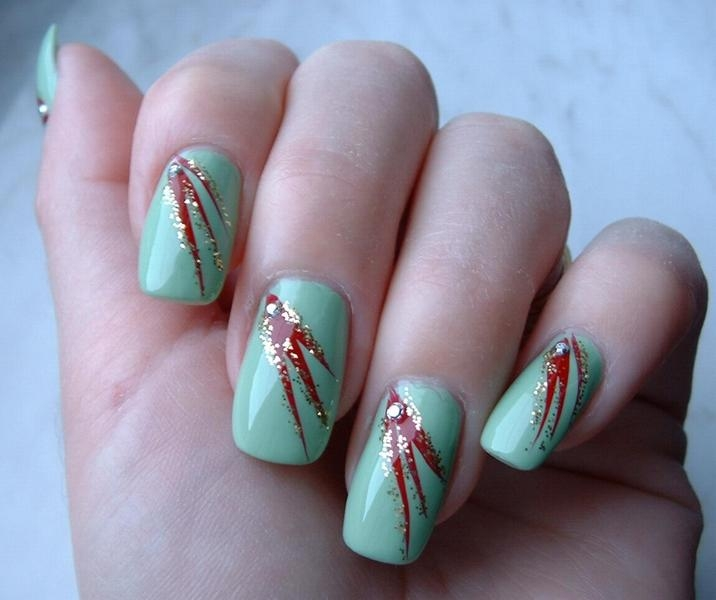 simple-nail-art-designs-for-short-nails-at-home