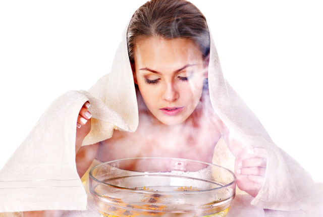 steam-at-home-facial-step