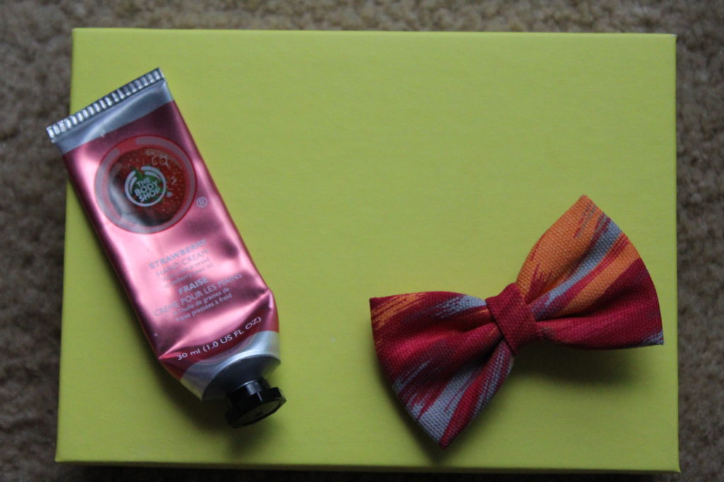 The Body Shop Strawberry Hand Cream Review