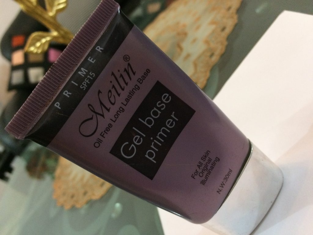 Review : Meilin Gel Base Primer With Spf 15
