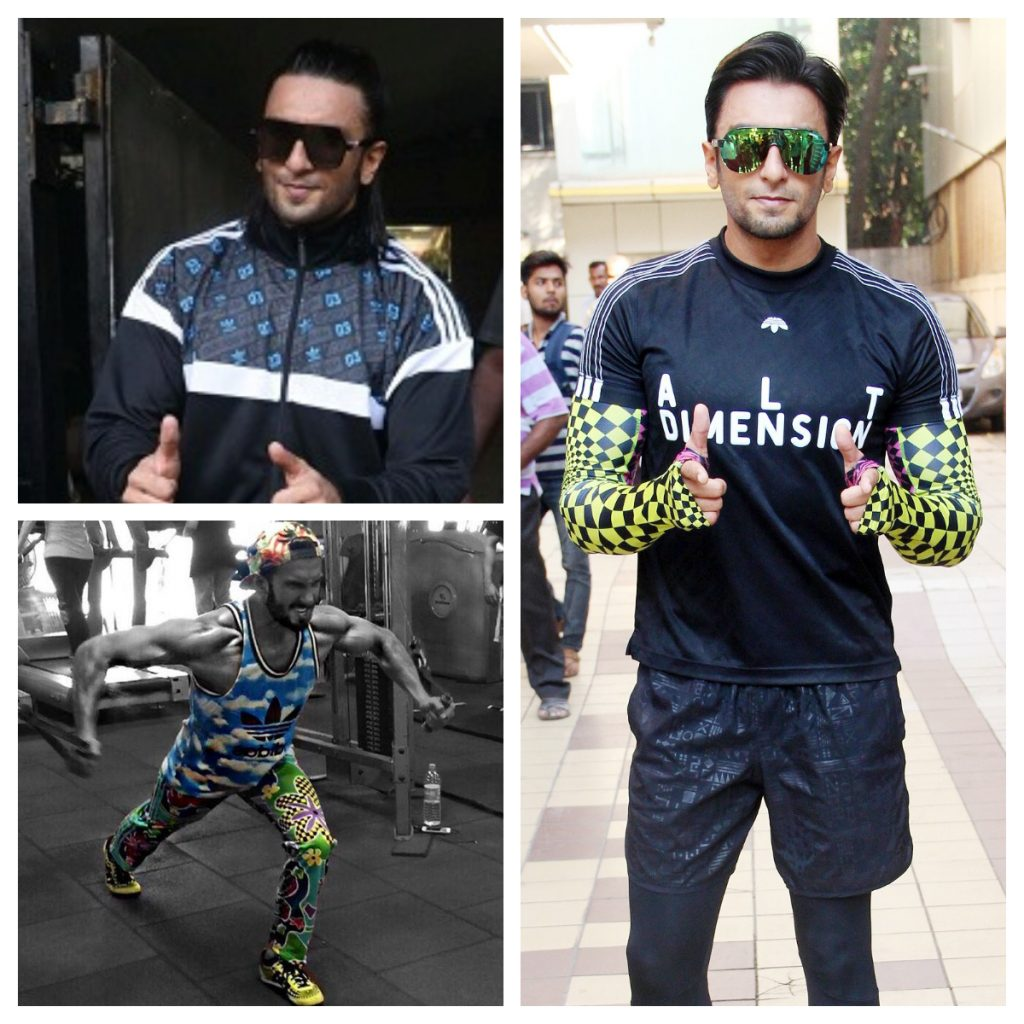 Ranveer Singh Gym Wear Inspiration How to style your workout gear 1.5